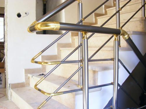 Alüminyum Merdiven Küpeşte Korkuluk Kovancılar (4)