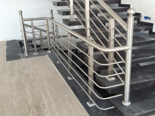 Alüminyum Merdiven Küpeşte Korkuluk Kovancılar (5)