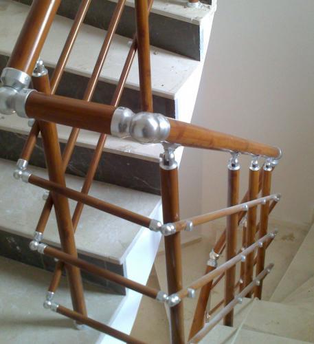 Alüminyum Merdiven Küpeşte Korkuluk Kovancılar (7)
